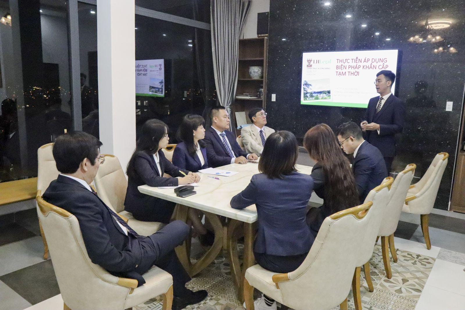 Luật sư LHLegal tổ chức tập huấn áp tại Đà Lạt